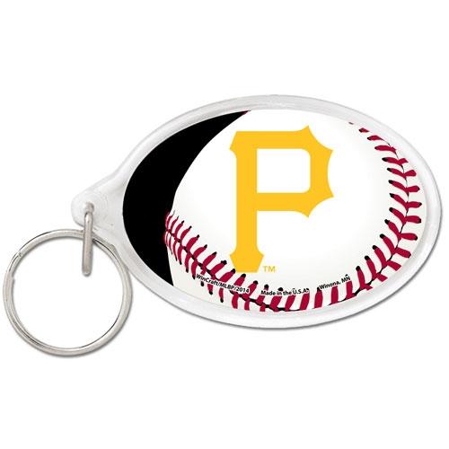 Pittsburgh Pirates WinCraft Premium Acrylic Keychain - No Size