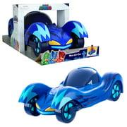 PJ Masks Mega Vehicles Cat-Car Mobile, 7 Inch Tall, 19 Inch Long, Giant Toy Car, Blue PJ Mask