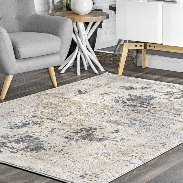 nuLOOM Chastin Abstract Area Rug