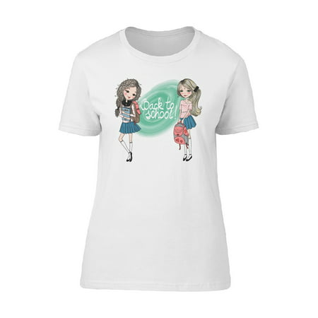 Back To School Girl Friends Tee Women's -Image by Shutterstock - Back To School Girls