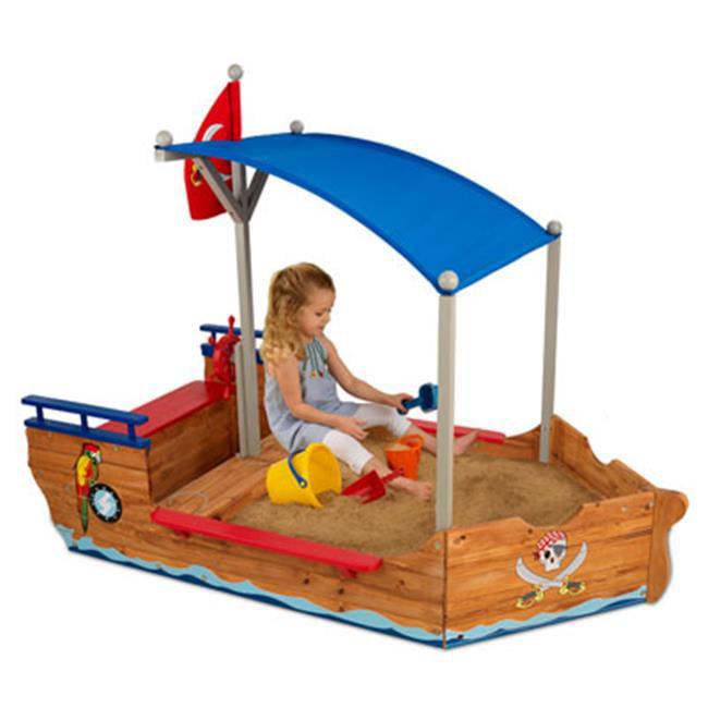 Kid Kraft 00128 Pirate Sandboat Kids Sandbox by KidKraft