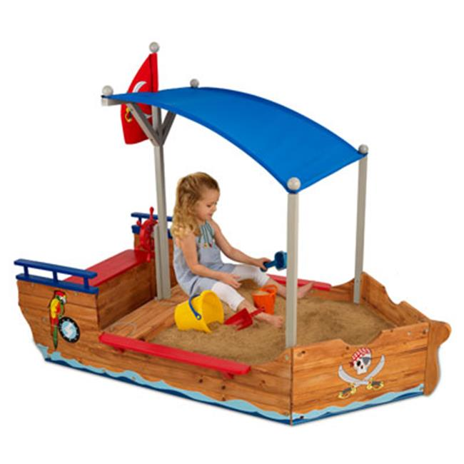 Kid Kraft 00128 Pirate Sandboat Kids Sandbox
