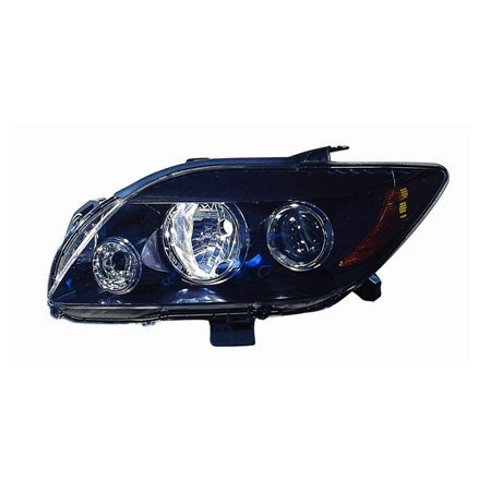 Replacement Depo 312-11A7L-UC2 Driver Side Headlight For 08-10 Scion tC