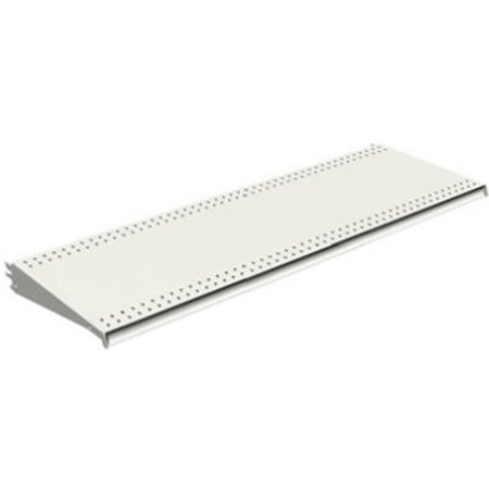 Lozier Store Fixtures DL416N WHT 4 ft. Wide x 16 in. Deep, White Lozier Shelf - Pack Of 2 ()
