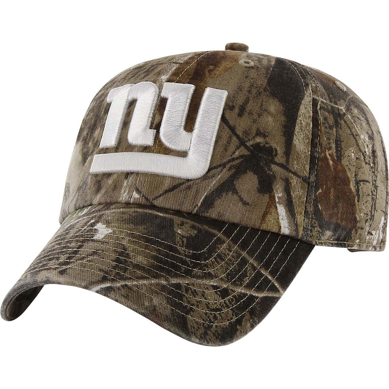 '47 Brand New York Giants NFL Realtree Camo Clean Up Cap