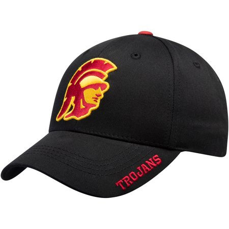 Men's Black USC Trojans Kingman Adjustable Hat - -