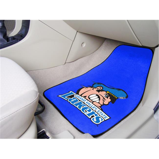 Fanmats 10986 Grand Valley State University Carpeted Car Mats 18 inch x 27 inch