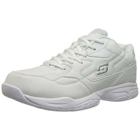 new arrival ca64d 577be Skechers Work - Skechers Men s Felton Slip Resistant, Relaxed-Fit Work Shoe  - Walmart.com