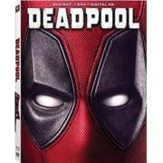 Deadpool (Blu-ray + DVD + Digital HD) (Widescreen)(With INSTAWATCH) by