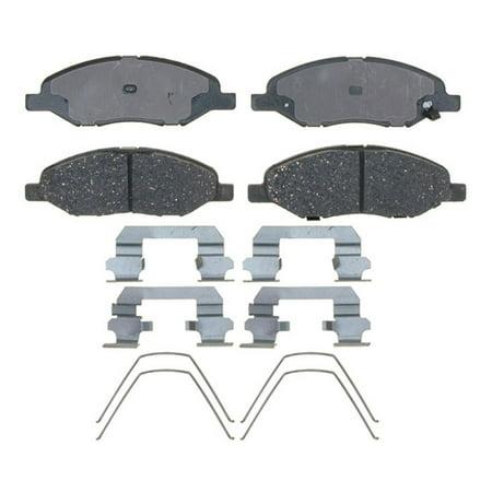 Nissan Versa Brake Drum - AC Delco 17D1345CH Brake Pad Set For Nissan Versa, Ceramic OE Replacement