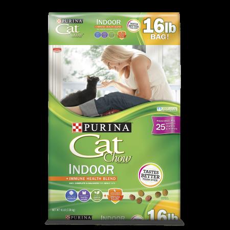 Purina Cat Chow Indoor Adult Dry Cat Food, 16 lb - Adult Cat Onesie