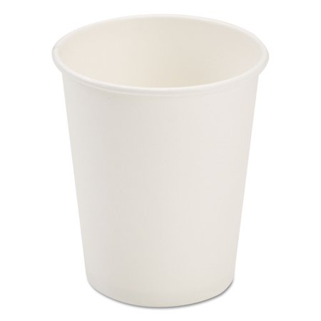 - Pactiv PCTD8HCW 8 oz Dopaco Paper Hot Cups, White - 50 Per Bag & 20 Bags Per Carton
