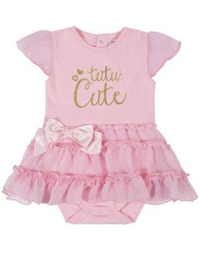 Gerber Baby Girl Bodysuit with Tutu Skirt