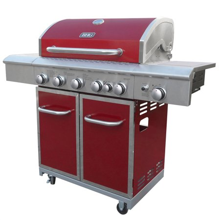 Better Homes And Gardens 5 Burner Gas Grill With Searing Side Burner Rear Burner With