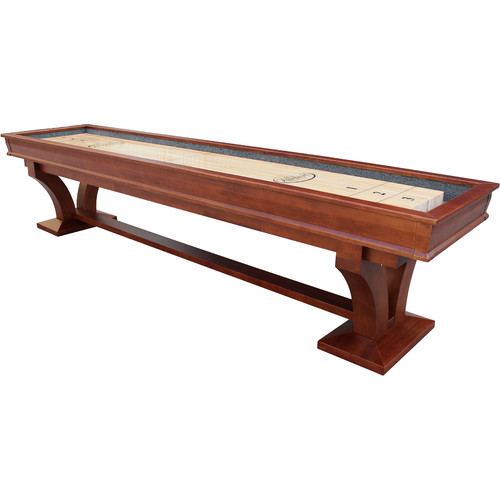 Playcraft Columbia River 14' Pro-Style Shuffleboard Table, Chestnut