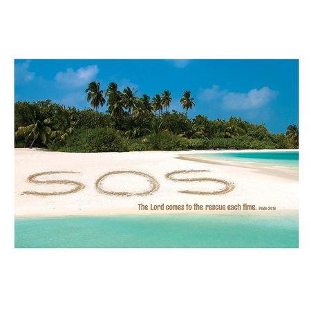 Fun Express - Island Vbs Message Backdrop Banner - Party Decor - Wall Decor - Preprinted Backdrops - 3 Pieces](Vbs Banner)