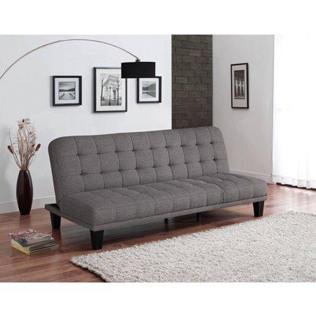 Metropolitan Futon Lounger Grey Linen Walmart Com