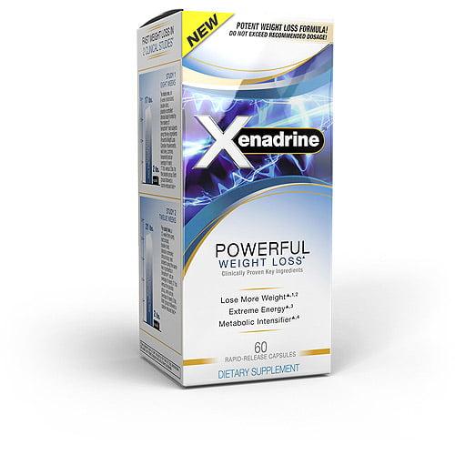 Xenadrine Powerful Weight Loss, 60ct