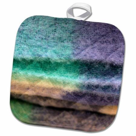 3dRose Ireland, Avoca Handweavers Mill, wool blanket, craft - EU15 KWI0025 - Kymri Wilt - Pot Holder, 8 by 8-inch Pot Holder Crafts