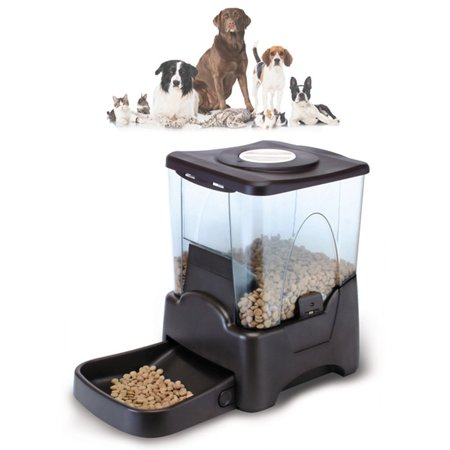Large Capacity Automatic Pet Feeder Food Dispenser for All Dogs, Cats, Small...