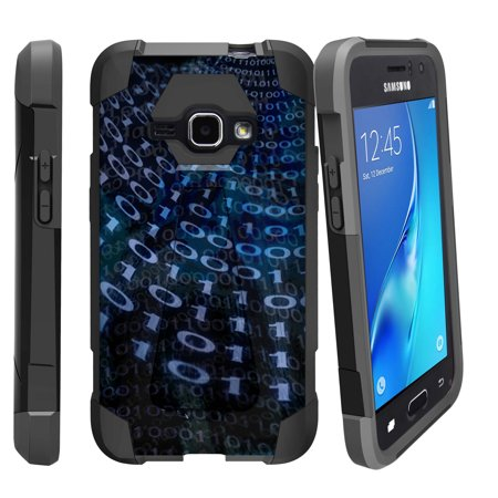 Case for Samsung Galaxy J7 | J700 [ Shock Fusion ] Hybrid Layers and Kickstand Case Unique Designs Series