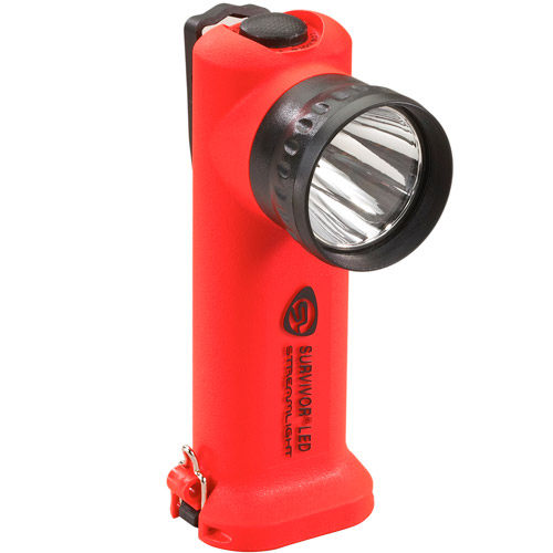 Click here to buy Streamlight Survivor LED 4AA Flashlight, Orange by Streamlight.