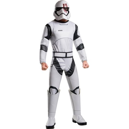 Star Wars The Force Awakens Deluxe Stormtrooper FN-2187 Adult Costume - Star Wars Onesie For Adults