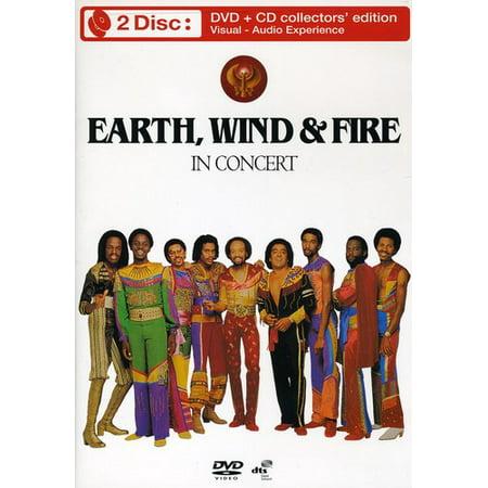 Earth, Wind & Fire: In Concert (DVD + CD) 12 Disc Black Cd Dvd