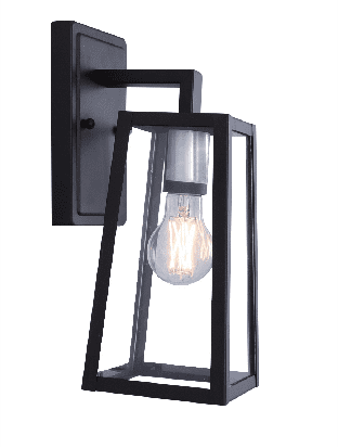 Better Homes Gardens Outdoor Porch Light Wall Lantern Vintage Black Walmart Com Walmart Com