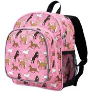 Wildkin Horses in Pink 12 Inch Insulated Front Kids Backpack