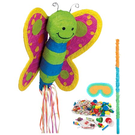 Butterfly Pinata Kit - Party - Butterfly Pinata