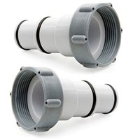 Intex Replacement Hose Adapter A w/ Collar for Threaded Connection Pumps (Pair)