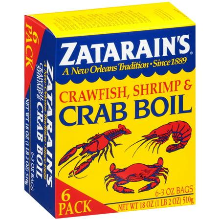 (3 Pack) Zatarain's Crawfish, Shrimp & Crab Boil, 3 - Crawfish Boil Supplies