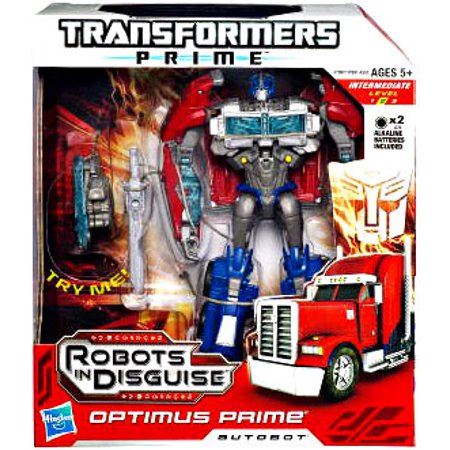 Transformers Prime Robots in Disguise Optimus Prime Voyager Action Figure