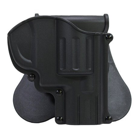 Bulldog Cases Rapid Release Holster w/ Paddle Fits S&W J Frame w/ 2