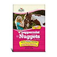 Manna Pro Bite Size Nuggets Horse Treat, Peppermint, 4 lbs.
