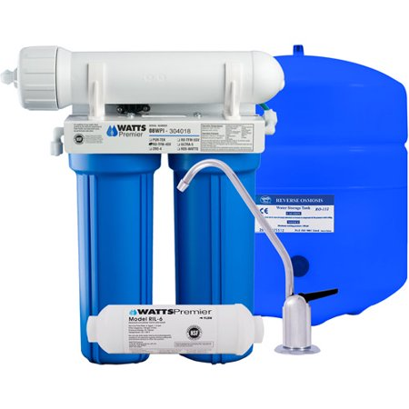 Watts Premier 4 Stage Reverse Osmosis System Walmart Com