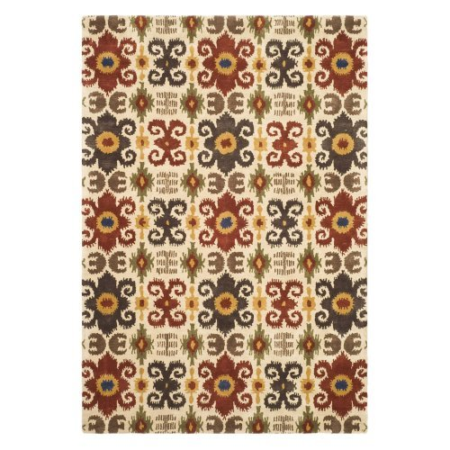Contemporary Hand Tufted Accent Rug (3 ft. x 2 ft.)
