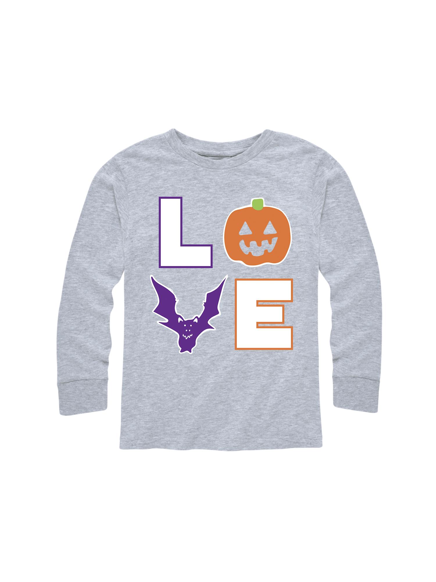 Love Halloween - Toddler Long Sleeve Tee