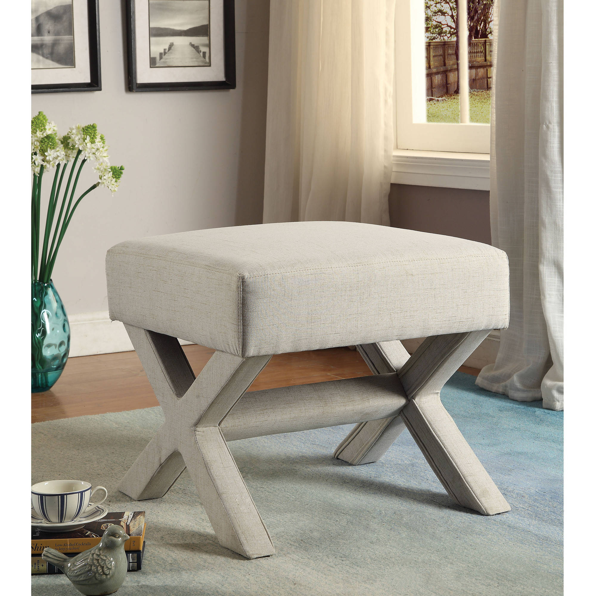 Coaster Upholstered Ottoman