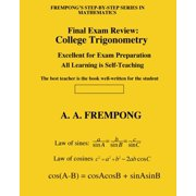 Final Exam Review : College Trigonometry