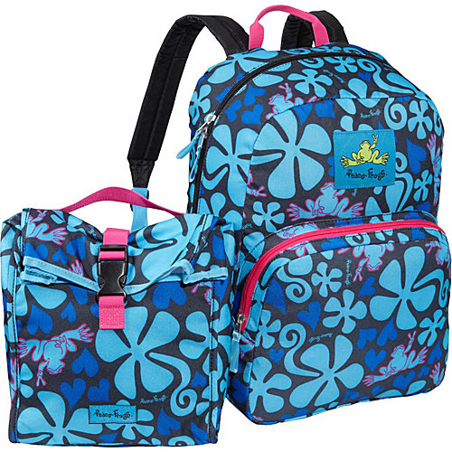 Peace Frogs Peace Frogs Day Trippin' Backpack & Lunch Combo
