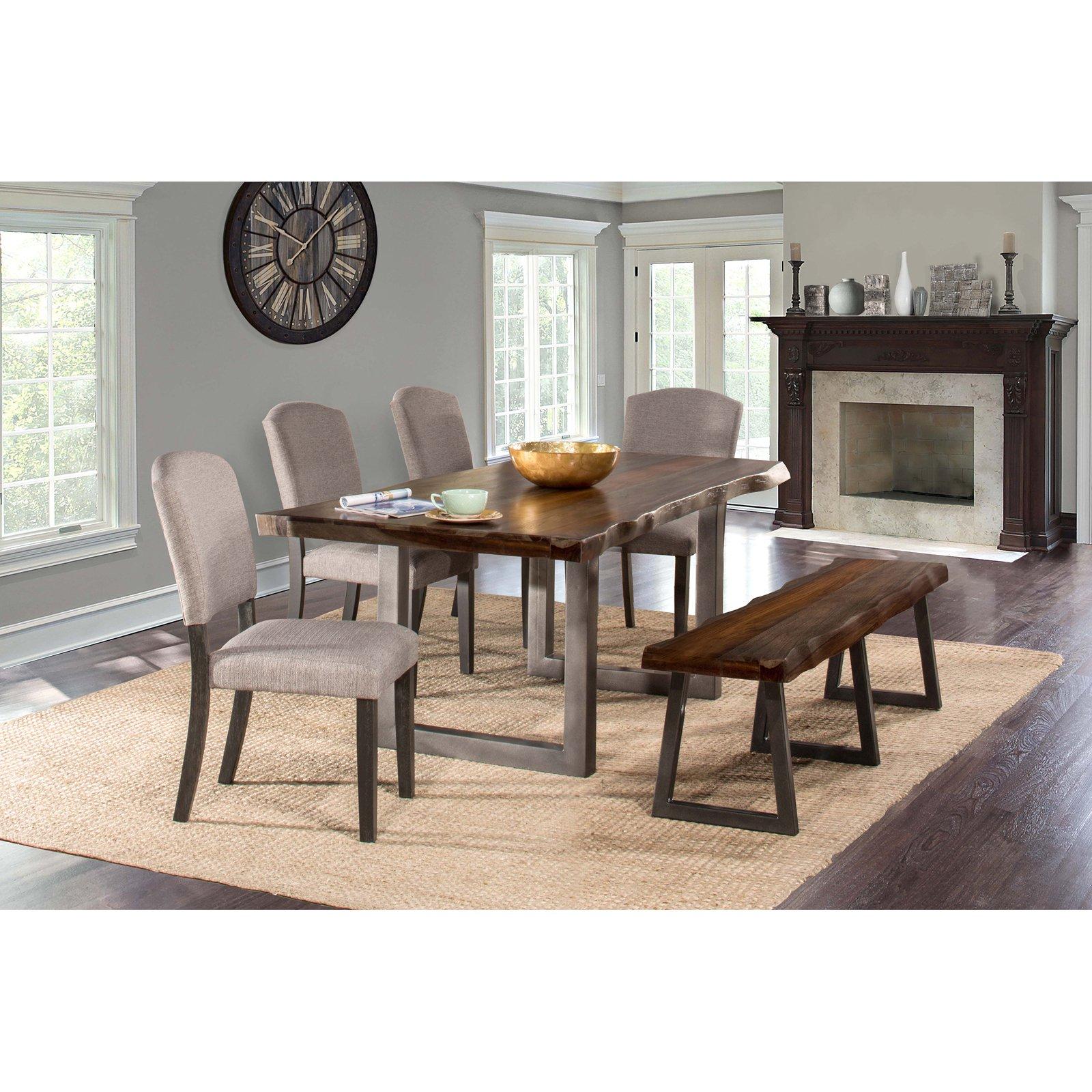Hillsdale Furniture Emerson 6-Piece Rectangle Dining Set, Mulitple Colors