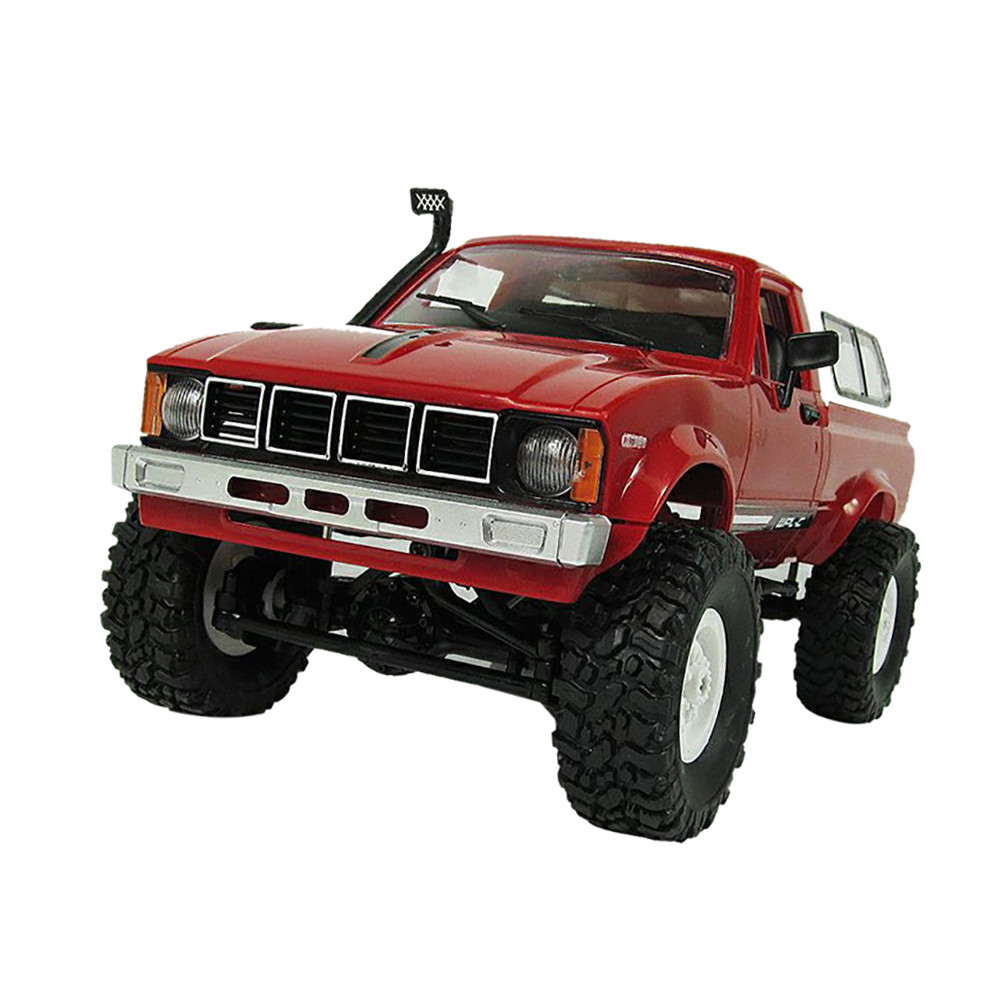DZT1968 WPL WD 1:16 RC Crawler Military Truck Assemble Kit Remote Control Vehicle Toy by