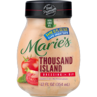 Marie's Thousand Island Dressing + Dip 12 fl oz Jar