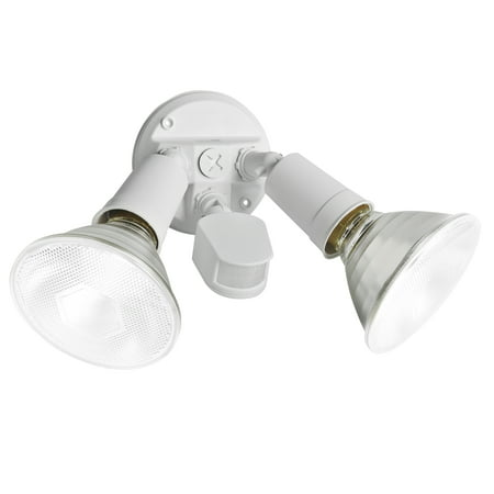 Brinks Motion Sensing Flood Light, White