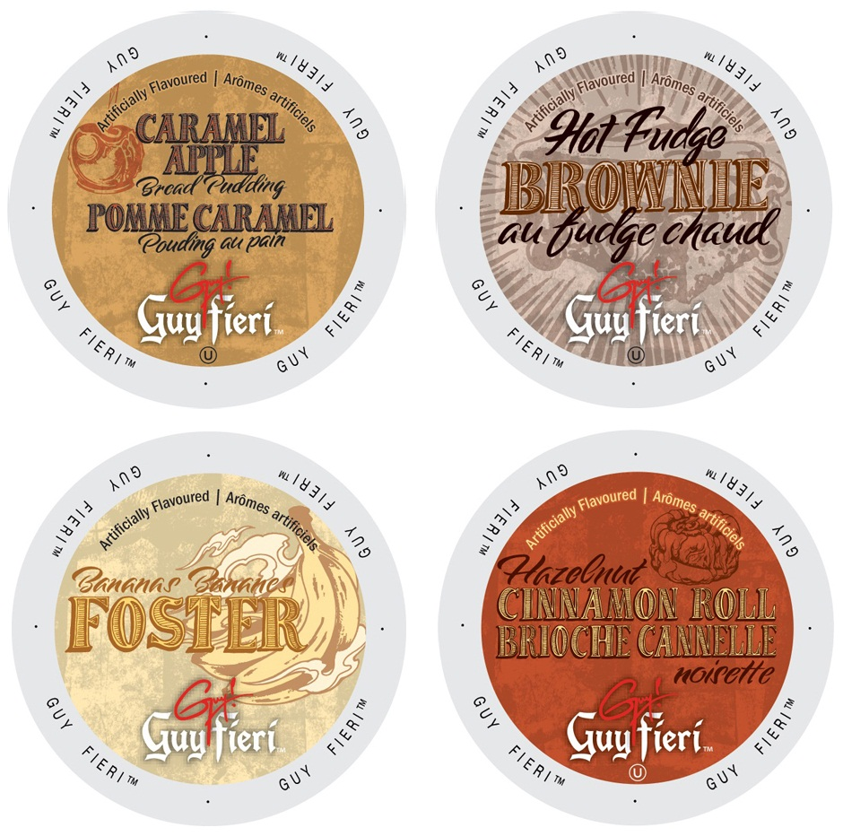 Guy Fieri Famous Deserts Coffee Collection, Mouth Watering Flavors That Will Leave You Craving for Some More, 96 Count