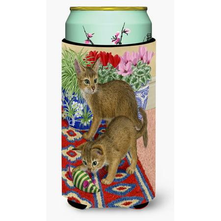 Abyssinian Kittens (Abyssinian Kitten Tall Boy Beverage Insulator Hugger ASA2164TBC)