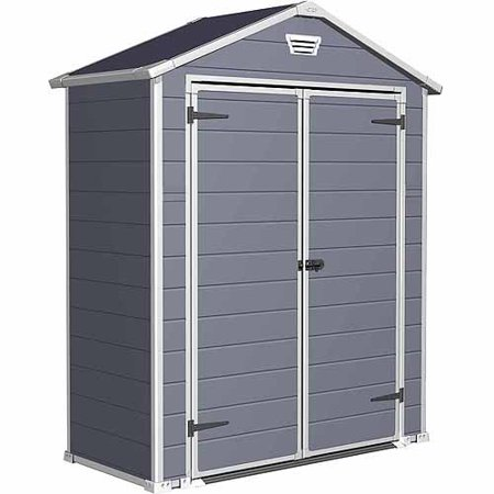keter manor 6 x 3 resin storage shed all weather plastic outdoor - Garden Sheds 6 X 3