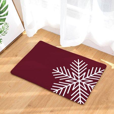 Mosunx Christmas Home Non Slip Door Floor Mats Hall Rugs Kitchen Bathroom Carpet Decor